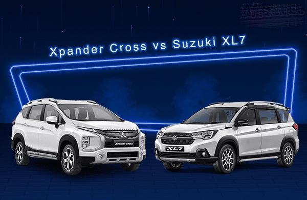 Đánh giá xe Suzuki XL7 so với Mitsubishi Xpander Cross