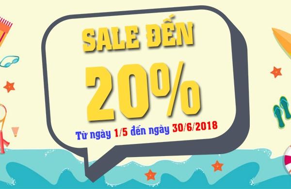 ƯU ĐÃI CHÀO HÈ 2018 - SALE ĐẾN 20% TRỌN BỘ PHỤ TÙNG