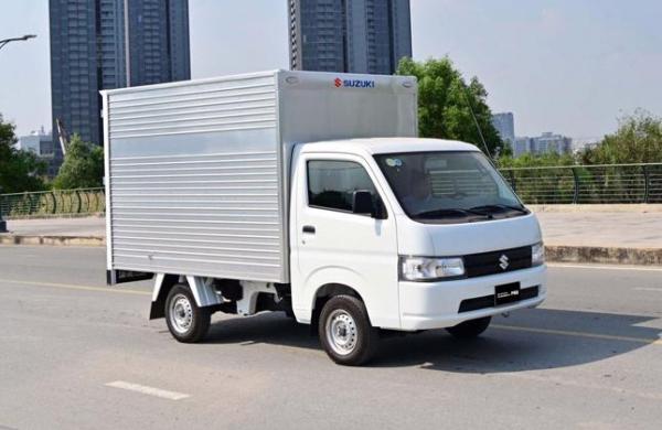 Xe tải Suzuki Carry Pro giải quyết nhu cầu vận tải mùa giãn cách hiệu quả