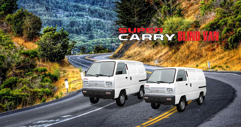 Xe bán tải Suzuki Blind Van 2018