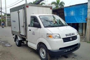 Suzuki Pro thùng kín cửa hông đời 2015