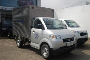 Xe tải Suzuki Pro 615kg thùng Inox