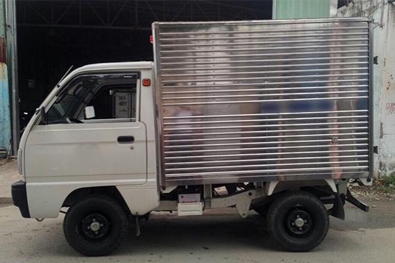 Xe tải Suzuki Cũ 500kg Kín inox đời 2015