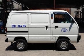 Xe tải cũ Suzuki Blind Van 495kg đời 2018