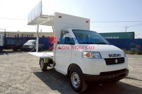 Mẫu xe tải thùng cánh dơi Suzuki Pro 1 cánh