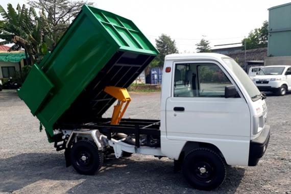 Xe ben Suzuki chở rác chuyên dụng cho khu đô thị
