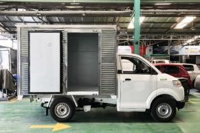 Mẫu Suzuki Pro Thùng Kín Inox 1 cửa hông