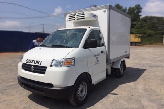 Mẫu Suzuki Pro thùng composite đông lạnh