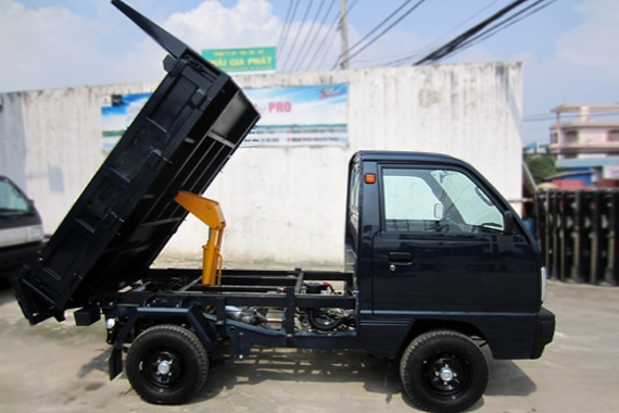 Mẫu thùng Suzuki Truck Ben