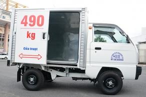 Thùng xe Truck 490kg cửa trượt tiện dụng