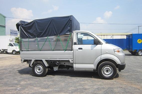 Mẫu Thùng Suzuki Pro Thùng Mui Bạt