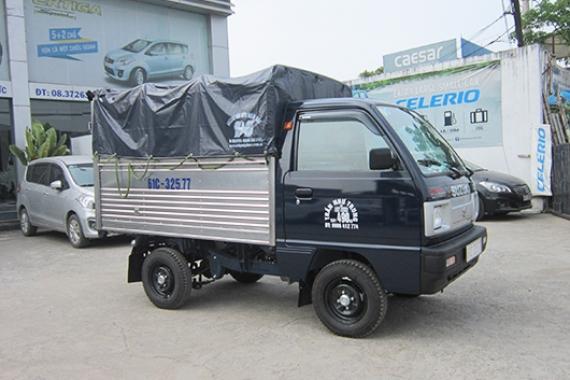 Mẫu thùng Suzuki Truck Mui Bạt