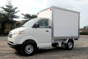 Mẫu Suzuki Pro Thùng Kín Composite