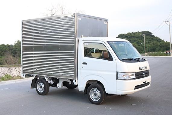 Mẫu Super Carry Pro 2019 thùng kín inox