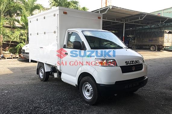 Mẫu xe tải thùng cánh dơi Suzuki Pro siêu dài